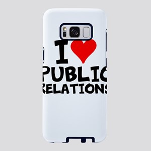 I Love Public Relations Samsung Galaxy S8 Case