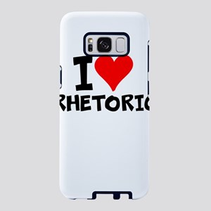I Love Rhetoric Samsung Galaxy S8 Case