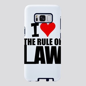 I Love The Rule Of Law Samsung Galaxy S8 Case