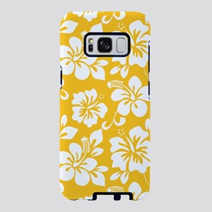 Yellow Hawaiian Hibiscus Samsung Galaxy S8 Case