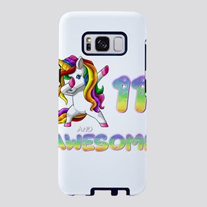 Dabbing Unicorn 11 and Awes Samsung Galaxy S8 Case