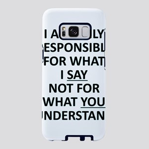 Umsted Design I Am Only Res Samsung Galaxy S8 Case