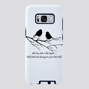 Friends in your Heart Quote Samsung Galaxy S8 Case