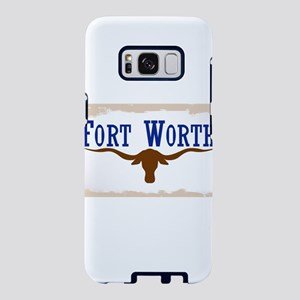 Flag of Fort Worth Samsung Galaxy S8 Case