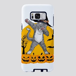 Dabbing Cat Funny Halloween Samsung Galaxy S8 Case