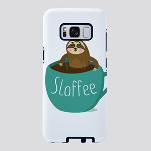 Sloffee - Funny Sloth Coffe Samsung Galaxy S8 Case