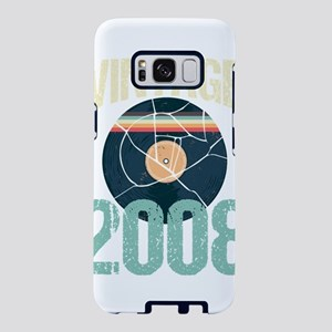 Retro Vintage 2008 11th Bir Samsung Galaxy S8 Case