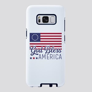 Betsy Ross Flag God Bless A Samsung Galaxy S8 Case