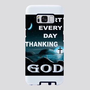 THANK YOU GOD Samsung Galaxy S8 Case
