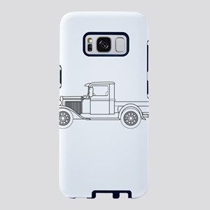 Early Pickup Truck Outline Samsung Galaxy S8 Case