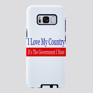 Love My Country Hate The Go Samsung Galaxy S8 Case