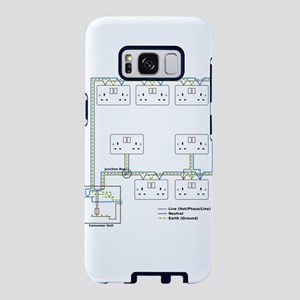 Electrical Circuit Samsung Galaxy S8 Case