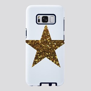 gold glitter star Samsung Galaxy S8 Case