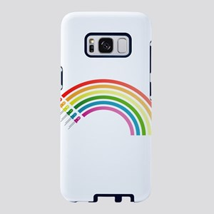 Rainbow Electrical Diodes Samsung Galaxy S8 Case