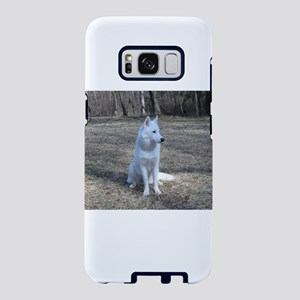 siberian husky white full second Samsung Galaxy S8