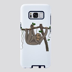 Cute Sloth Samsung Galaxy S8 Case