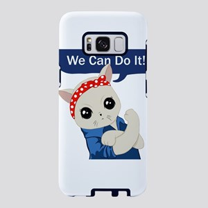 Feminist Cat Samsung Galaxy S8 Case