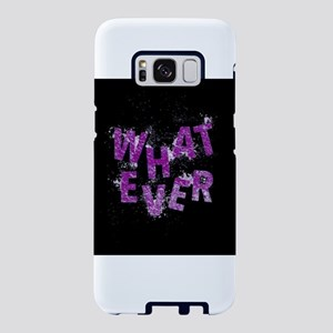 Purple Whatever Samsung Galaxy S8 Case