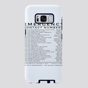 bible emergency number Samsung Galaxy S8 Case