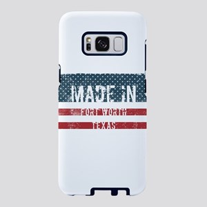 Made in Fort Worth, Texas Samsung Galaxy S8 Case