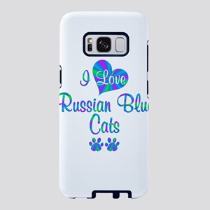 I Love Russian Blue Cats Samsung Galaxy S8 Case