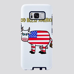 God Bless Americow Samsung Galaxy S8 Case