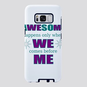 Research motivational Samsung Galaxy S8 Case