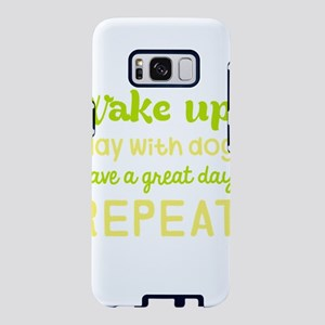 Wake Up Play With Dog Have Samsung Galaxy S8 Case