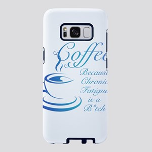 Coffee because CFS Samsung Galaxy S8 Case