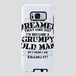 grumpy old man killing it Samsung Galaxy S8 Case