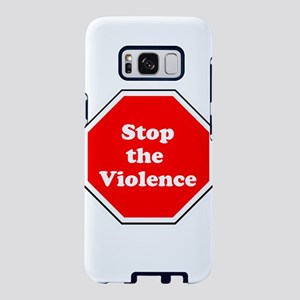 Stop the violence Samsung Galaxy S8 Case