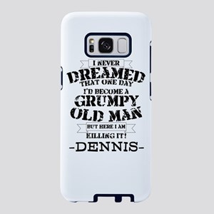grumpy old man personalized Samsung Galaxy S8 Case