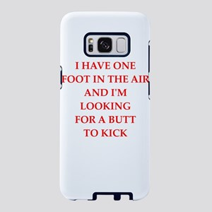 butt kicker Samsung Galaxy S8 Case