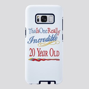 Incredible 20th Birthday Samsung Galaxy S8 Case