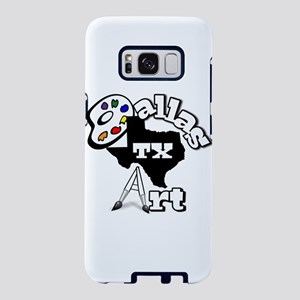 dallastxartnewestlogo.png Samsung Galaxy S8 Case