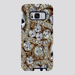 girly bohemian gold rhinest Samsung Galaxy S8 Case
