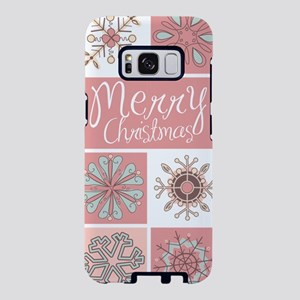 Merry Christmas in Pastel P Samsung Galaxy S8 Case
