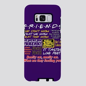 Friends Quotes Samsung Galaxy S8 Case