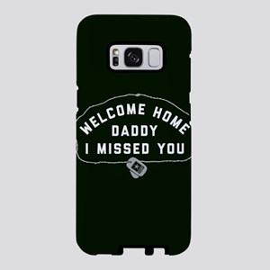 US Army Welcome Home Daddy Samsung Galaxy S8 Case