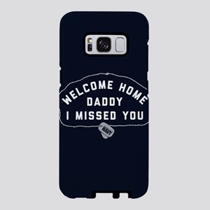 U.S. Navy Welcome Home Dadd Samsung Galaxy S8 Case