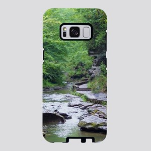 forest river scenery Samsung Galaxy S8 Case