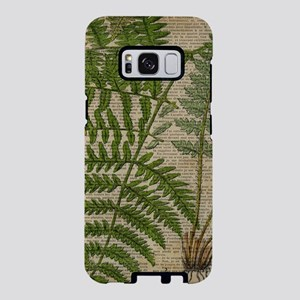 botanical fern leaves folia Samsung Galaxy S8 Case