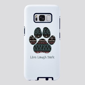 Live Laugh Bark Samsung Galaxy S8 Case
