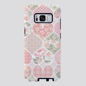 Patchwork Hearts Samsung Galaxy S8 Case