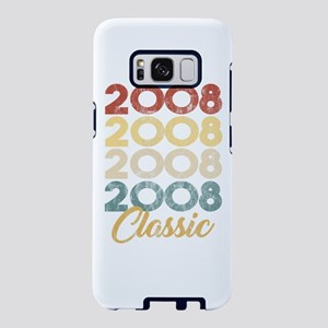 Vintage Retro Born In 2008 Samsung Galaxy S8 Case