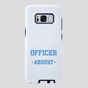 Retired Police Officer Cop Samsung Galaxy S8 Case