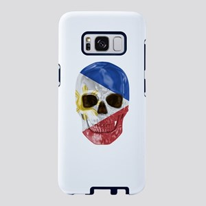 Skull Flag Of Philippines Samsung Galaxy S8 Case