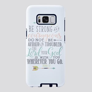 Joshua 1:9 Bible Verse Samsung Galaxy S8 Case