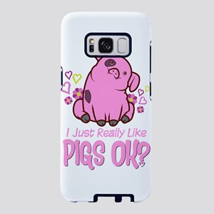 I Just Really Like Pigs Samsung Galaxy S8 Case