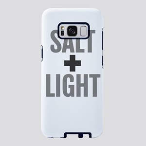 Salt & Light Cross Bibl Samsung Galaxy S8 Case